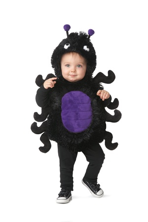 infant spider costume from Chasing Fireflies
