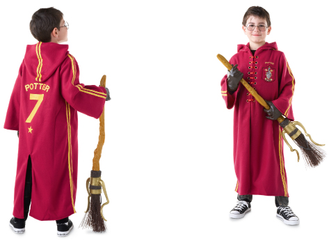 Harry Potter Quidditch robe costume for kids