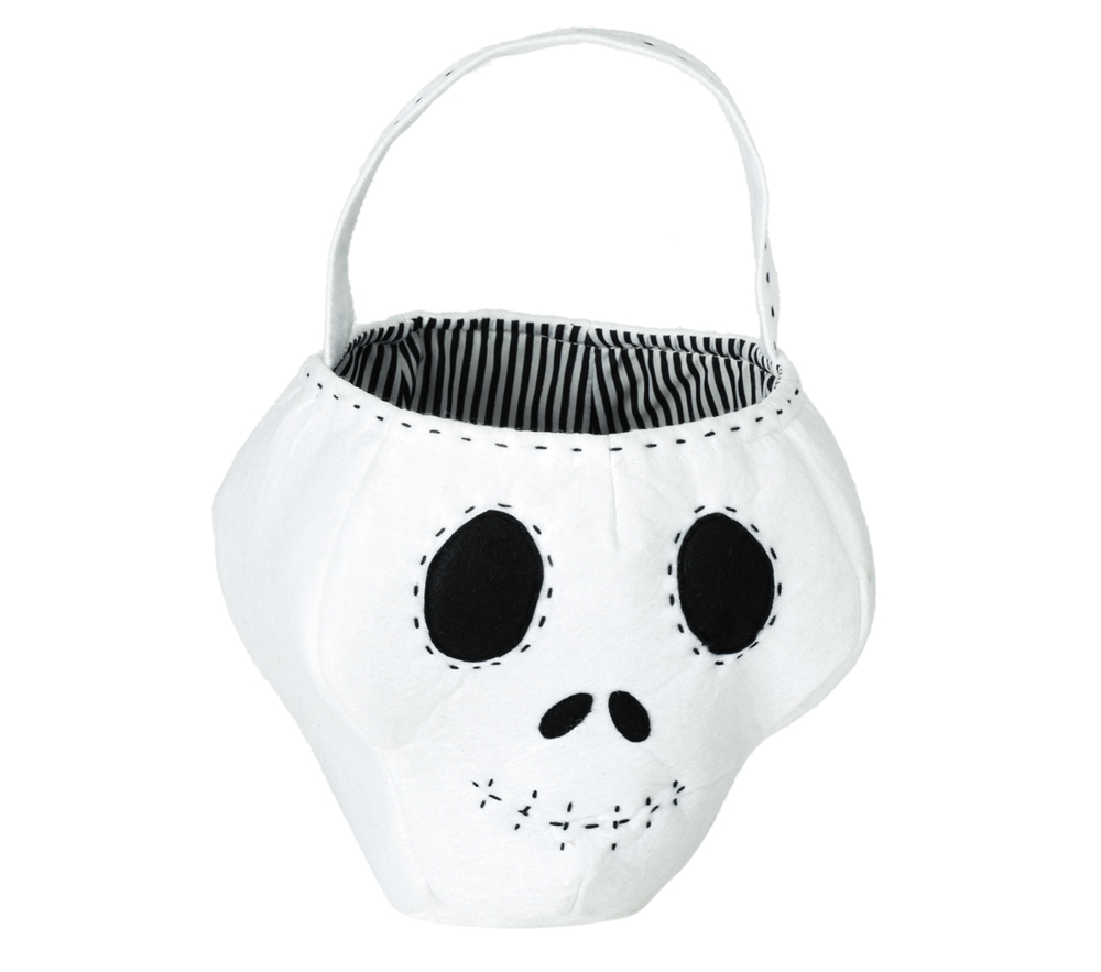 Scary Skeleton Treat Tote Bag Compliments Any Kid S