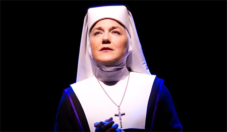 Victoria Clark in Sister Act on Broadway