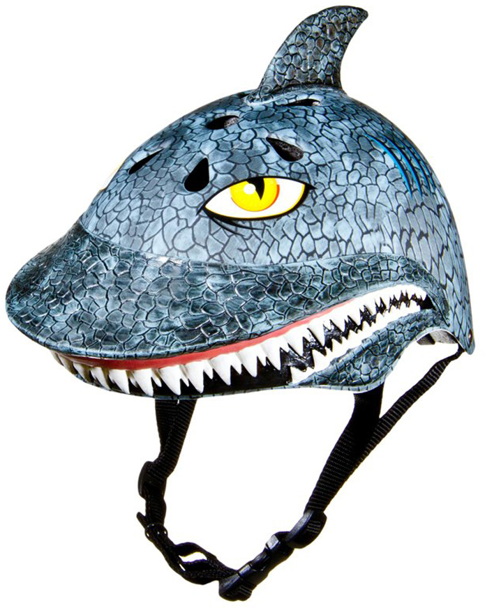 Shark bike helmet for kids