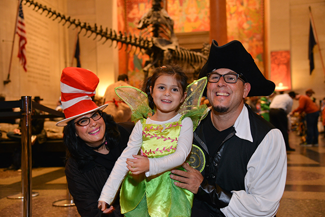 AMNH halloween celebration