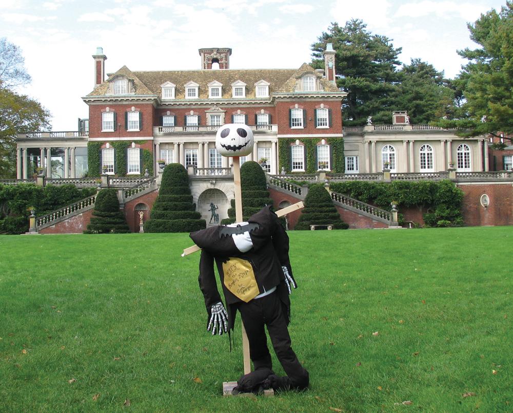 Scarecrow at Old Westbury Gardens