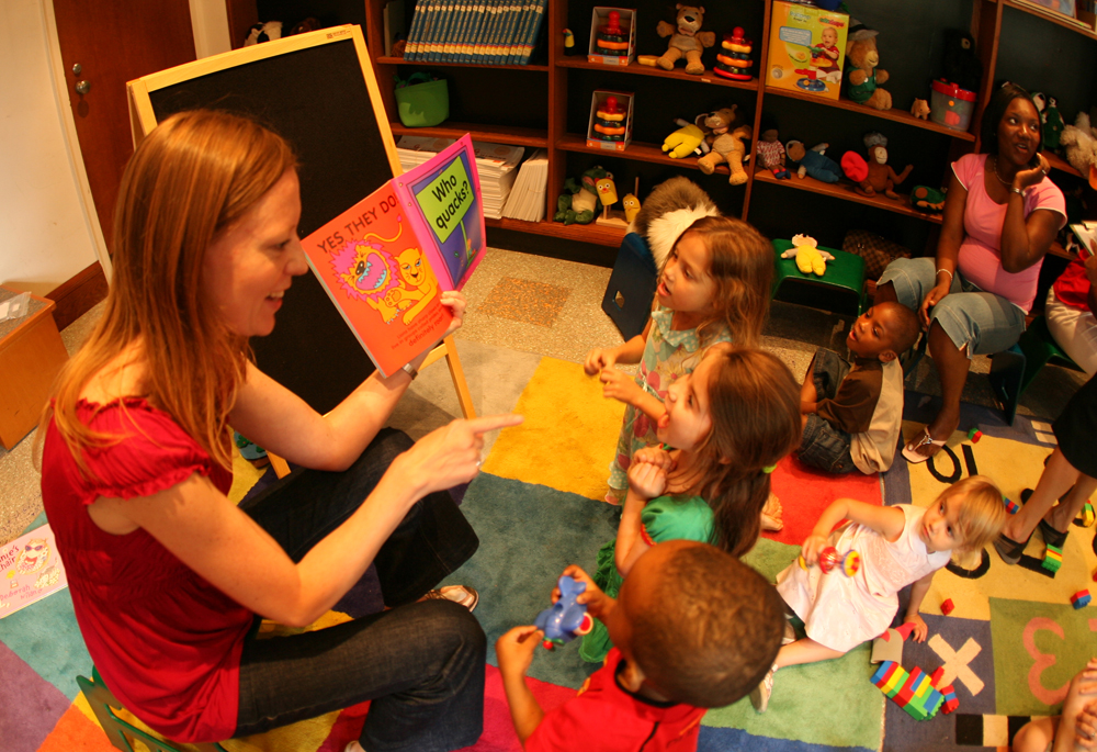 brooklyn public library first five years story time