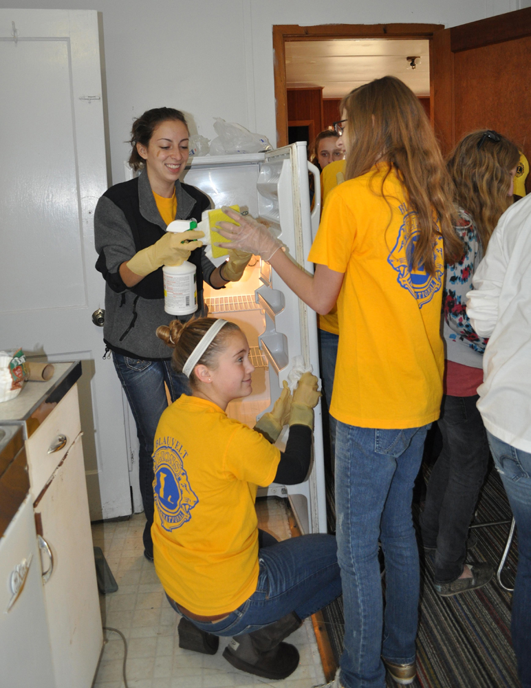 Blauvelt Lions Leos youth volunteers