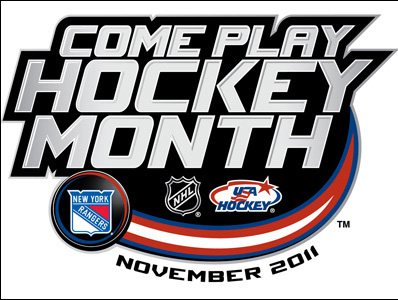 try hockey for free with new york rangers