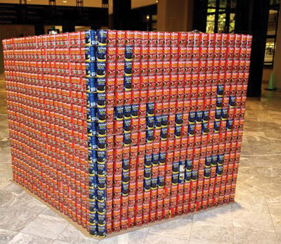 NYC Canstruction exhibit