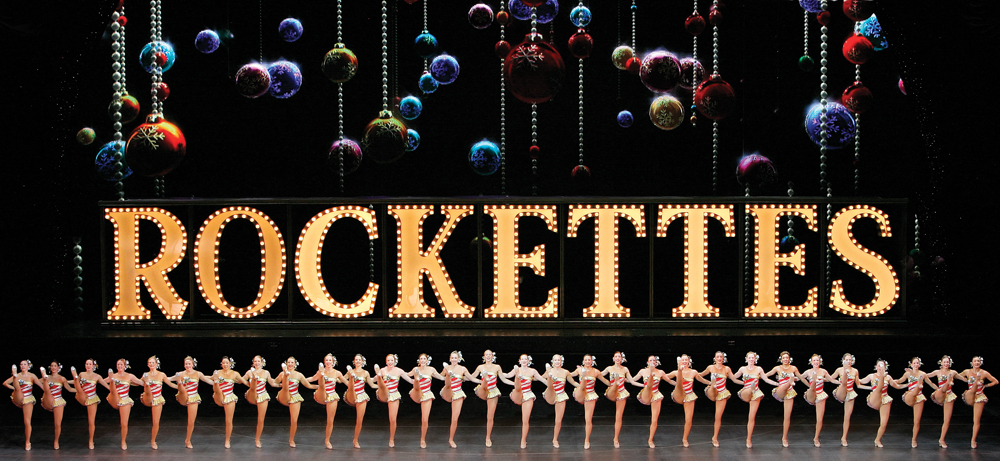 Rockettes in Radio City Christmas Spectacular