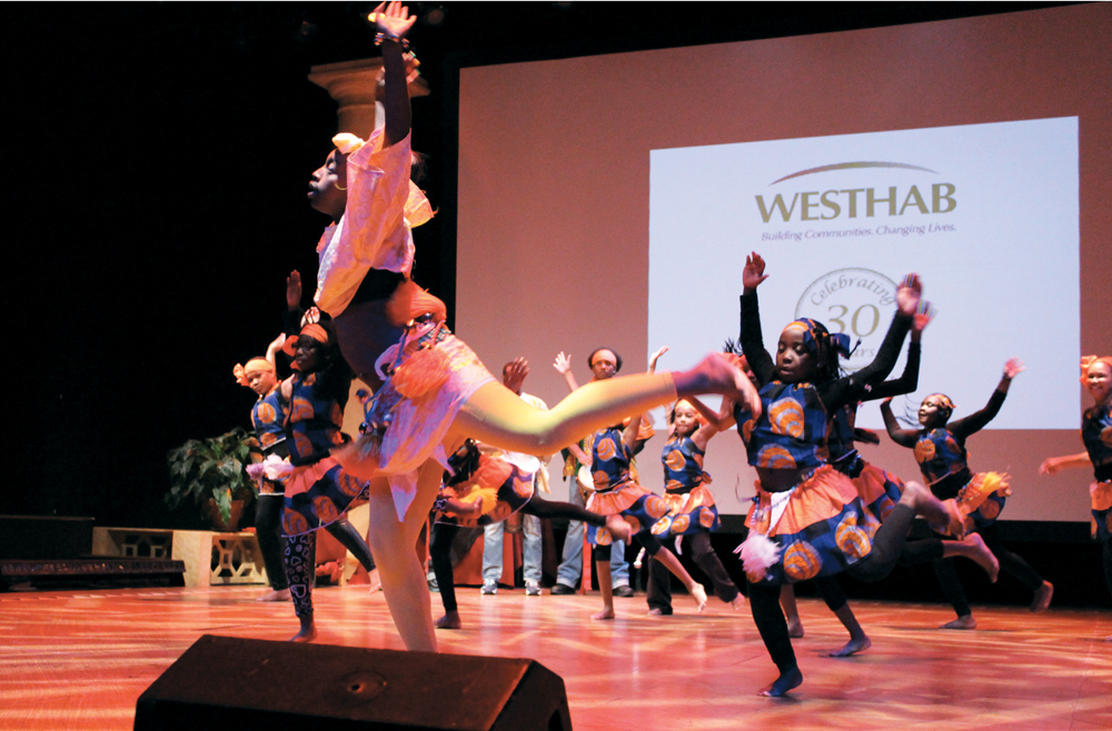 Westhab youth performers