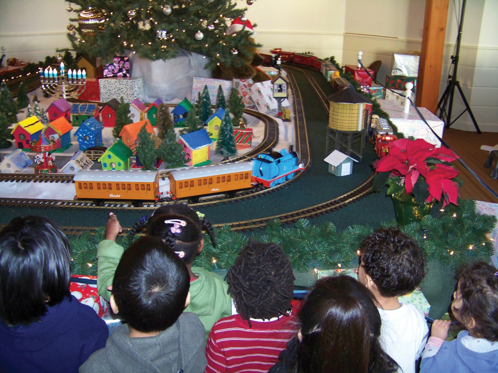 Holiday Express Train Show, Fairfield CT