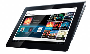 Sony Tablet at Sony Style