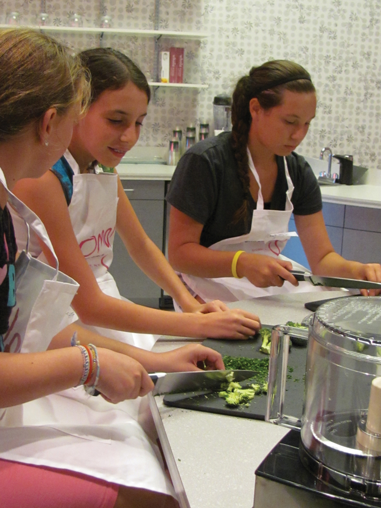oh my girls cooking class