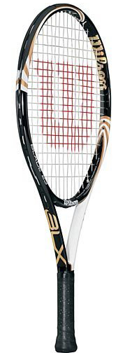 Wilson Jr. tennis racket