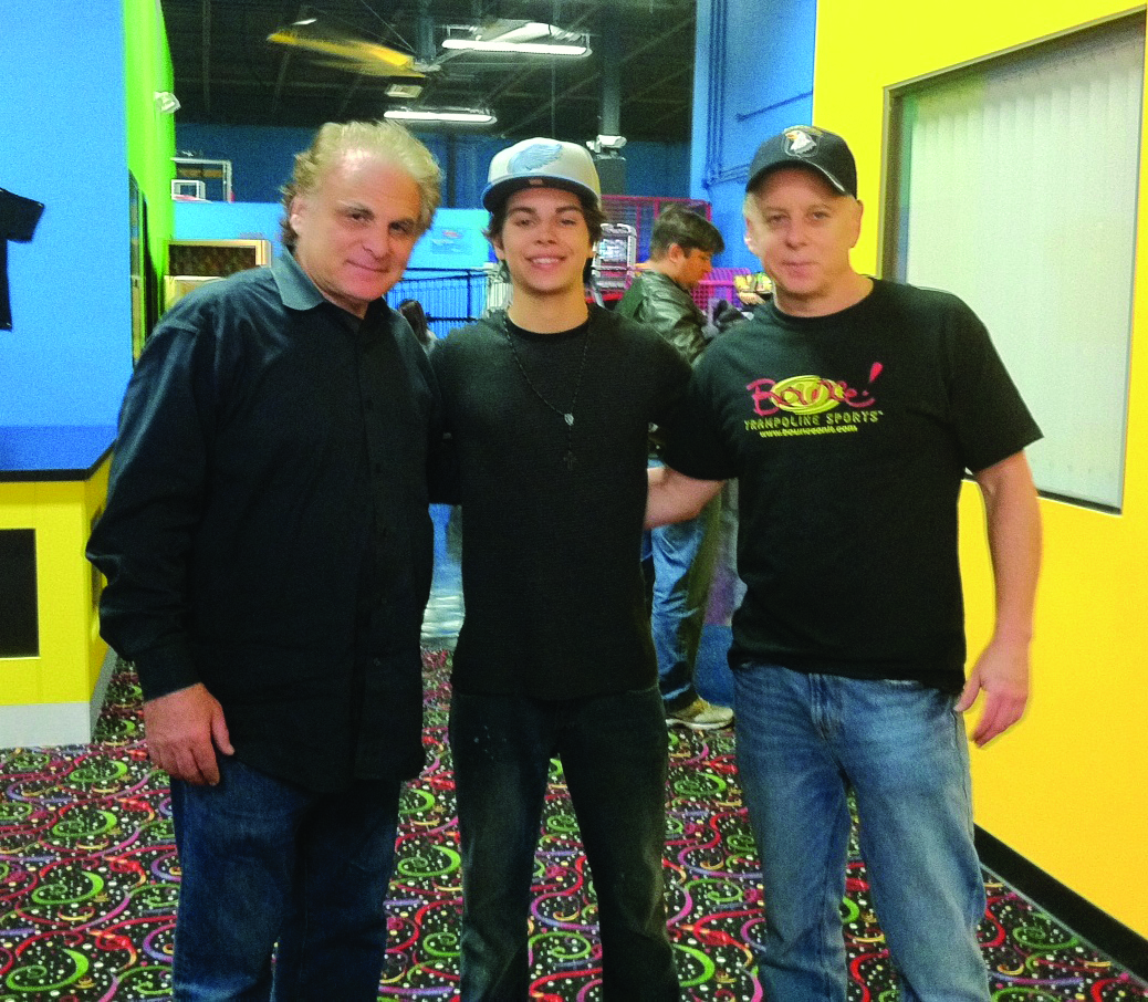 Bounce! Trampoline Sports grand opening with Jake T. Austin
