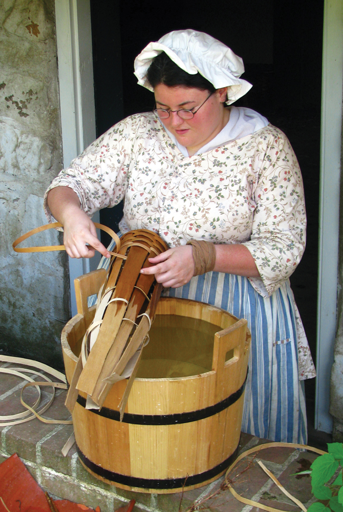 Basket Weaving Origin : Family outing historic richmond town nymetroparents