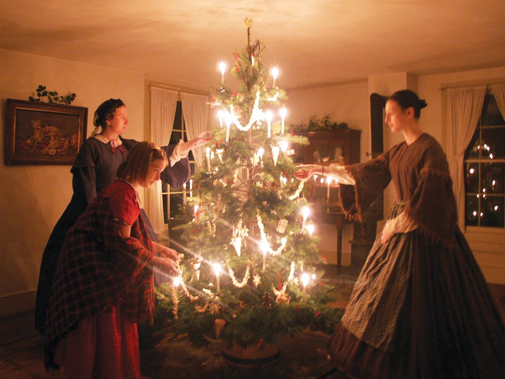 Historic Richmond Town colonial Christmas