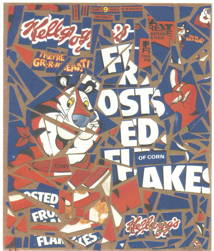 Michael Albert Frosted Flakes art