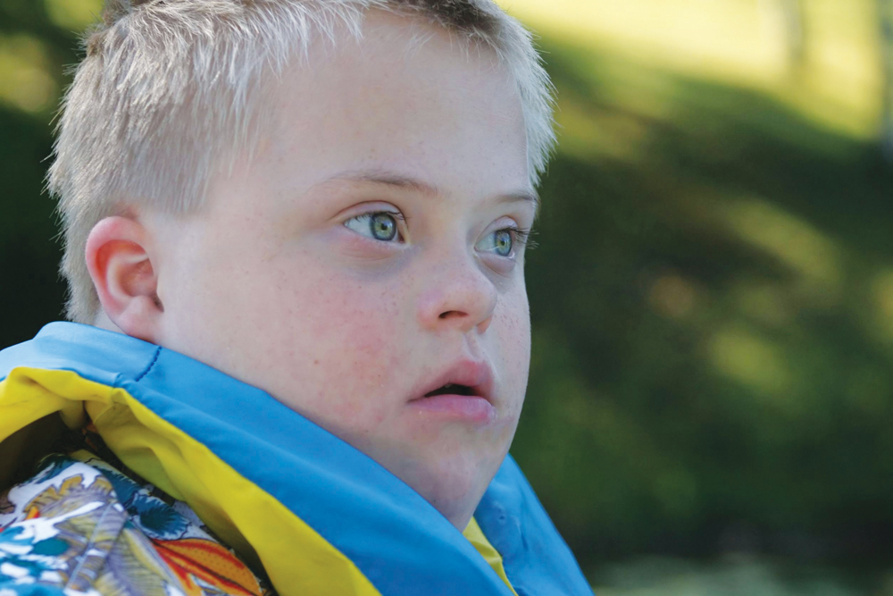 camper with Down Syndrome