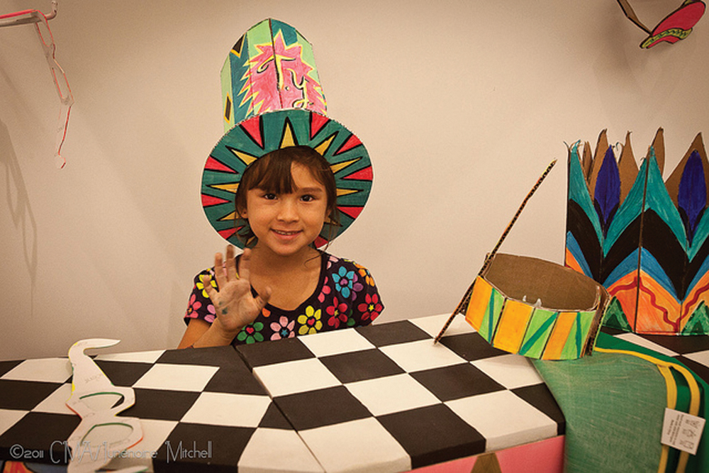 art workshop at children's museum of the arts