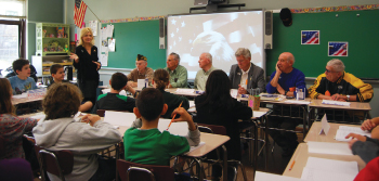 veterans visit south orange middle school