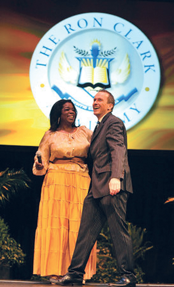 Ron Clark and Oprah