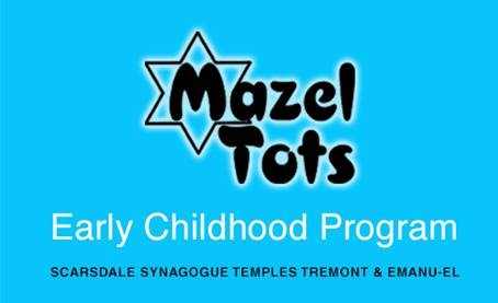 Mazel Tots at Scarsdale Synagogue