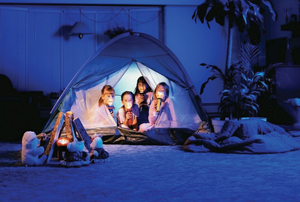 Indoor Camping Ideas