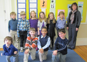 portledge school rock the statue art contest