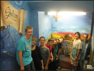 wantagh school mural