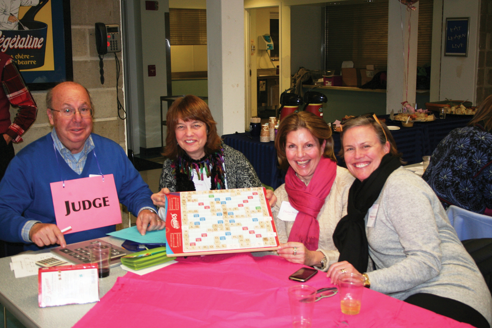 Scrabble for charity