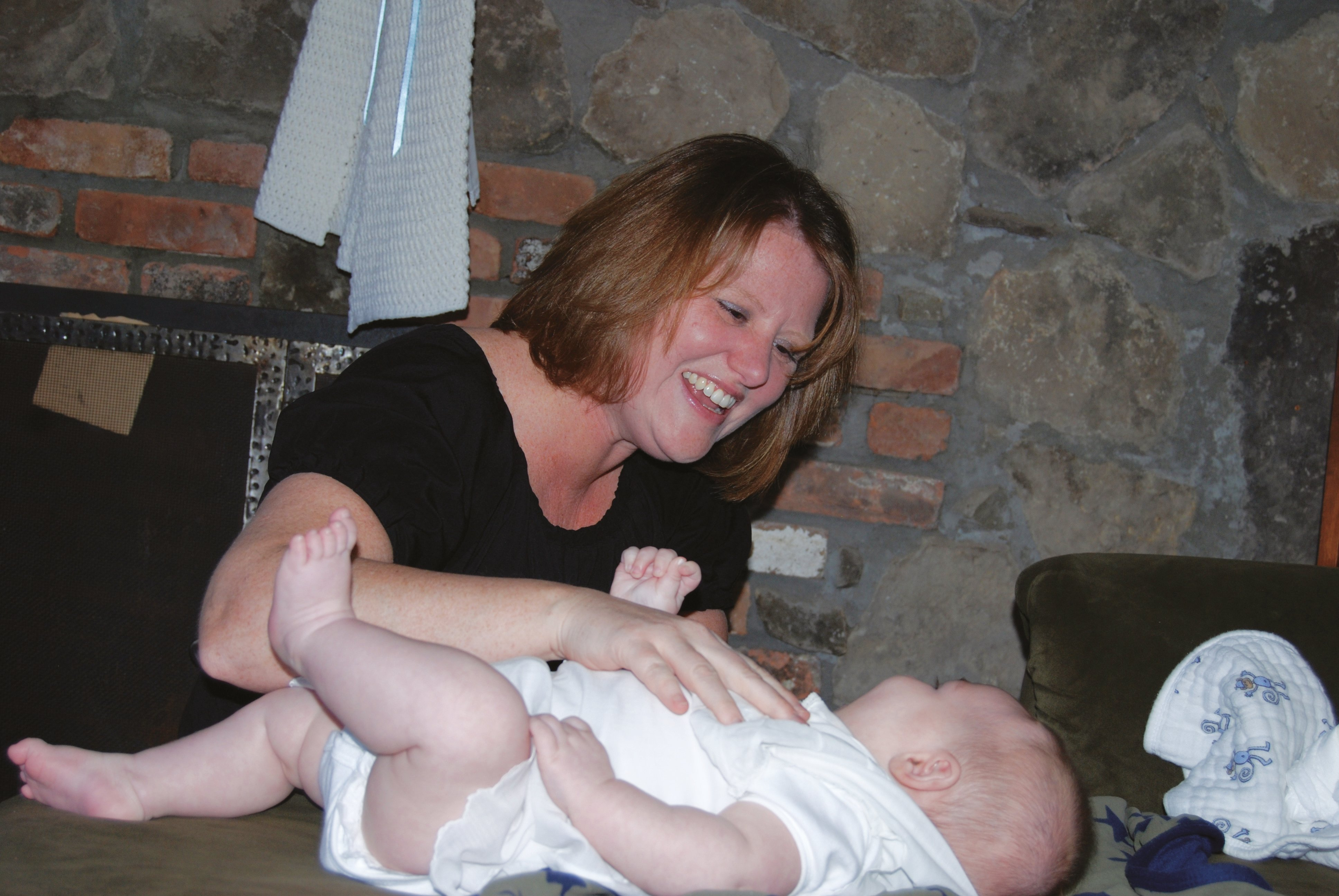 Patricia Reilly started Growing Up Babies, a newborn care consulting company in Rockland, NY