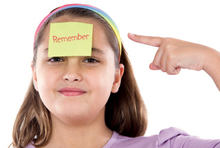 Apps that can help your child with the skill of remembering.