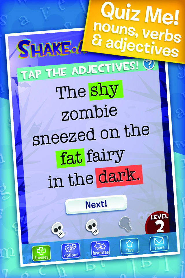 Shake a Phrase is an educational memory app.