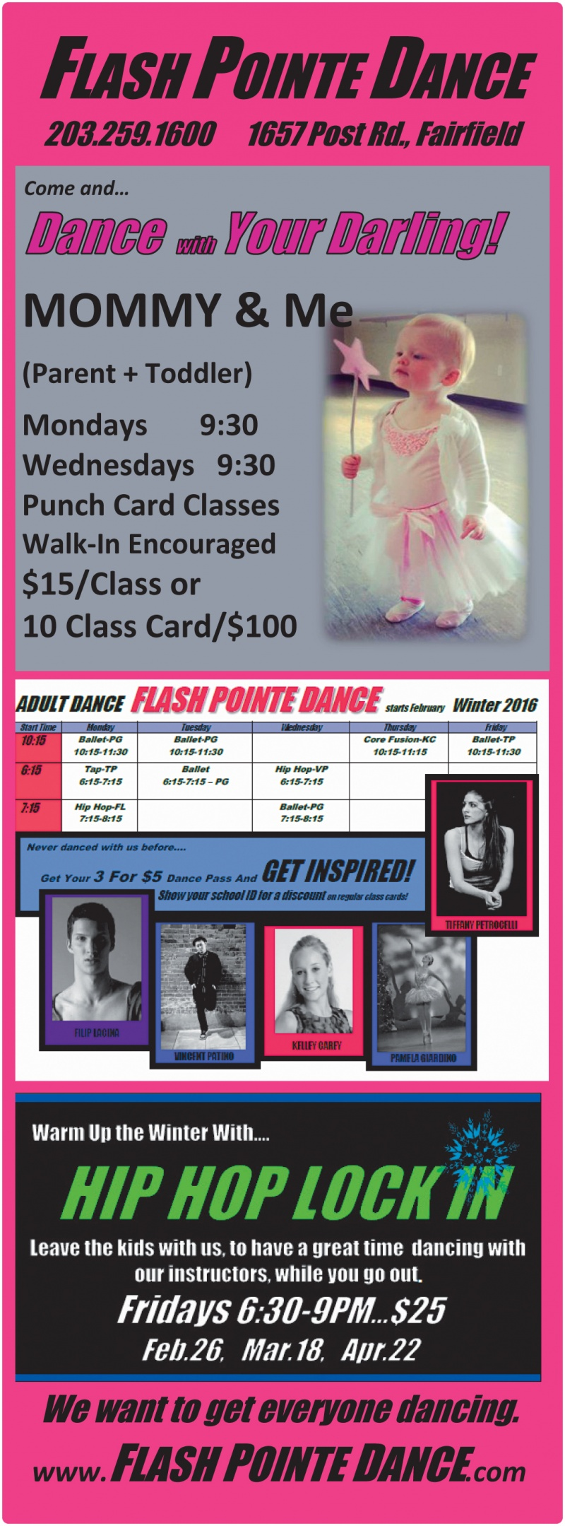 Flash Pointe Dance