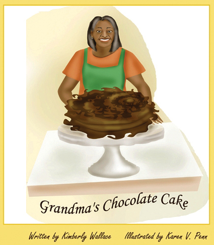 Grandma's Chocolate Cake by Kimberly Wallace