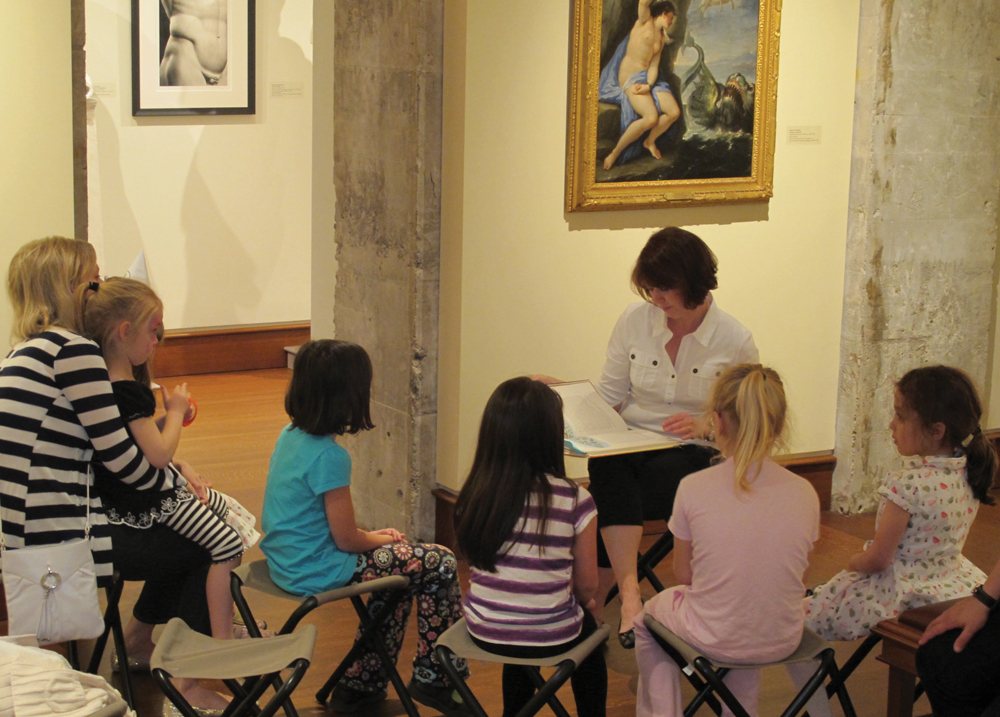 Bellarmine Museum of Art family day