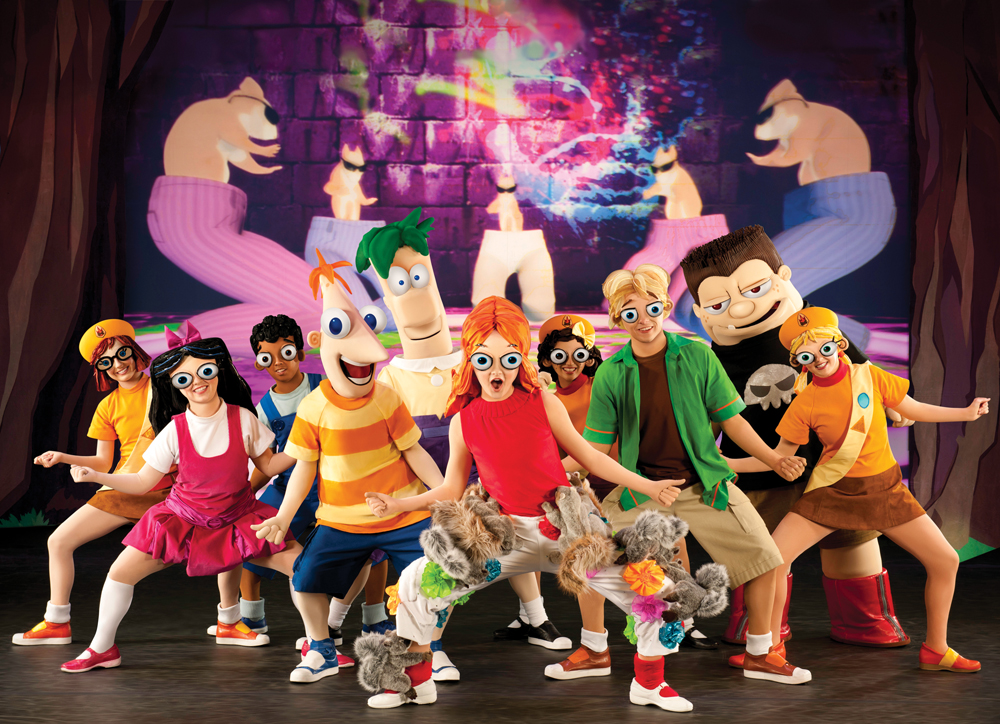 Phineas and Ferb Live Tour