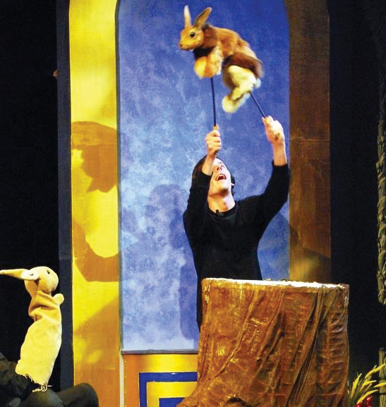 The Velveteen Rabbit with puppets