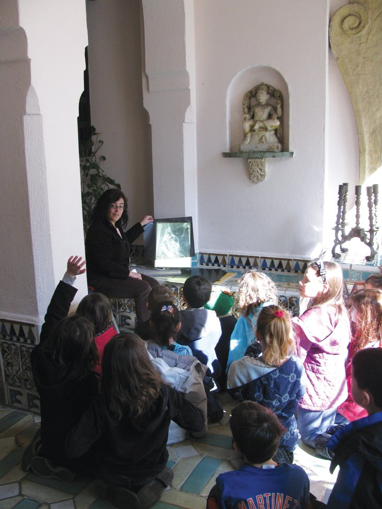 Vanderbilt Museum spring break workshop