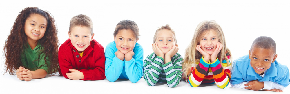 kids of diverse ethnicities and races