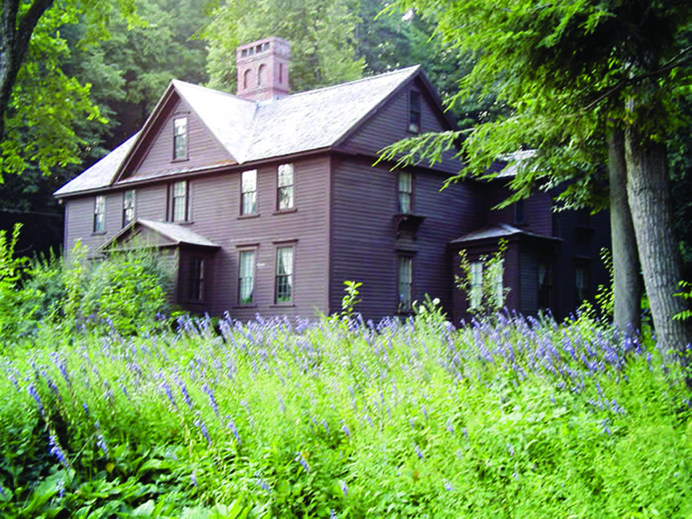 The Alcott Home in Concord, Massachussetts