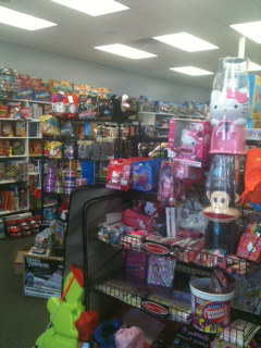 Kids can celebrate in style at Toyriffic, pictured above.