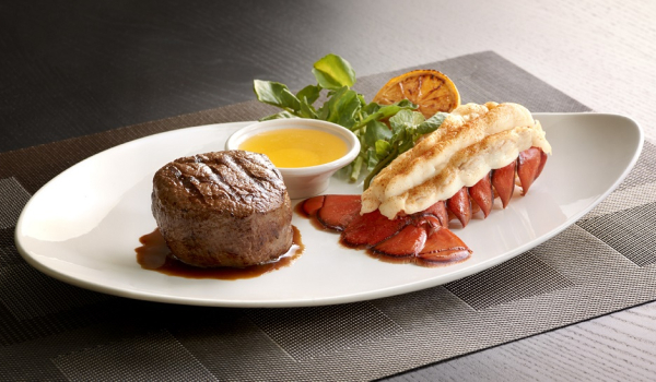 morton's the steakhouse surf n turf