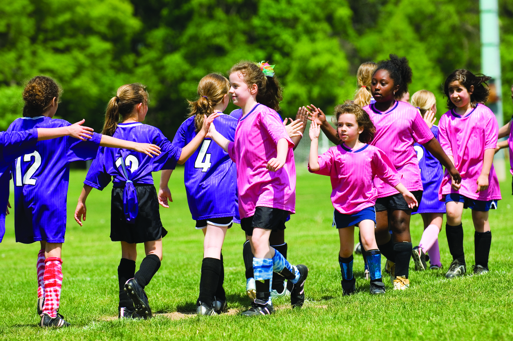 Benefits of playing soccer for young kids.