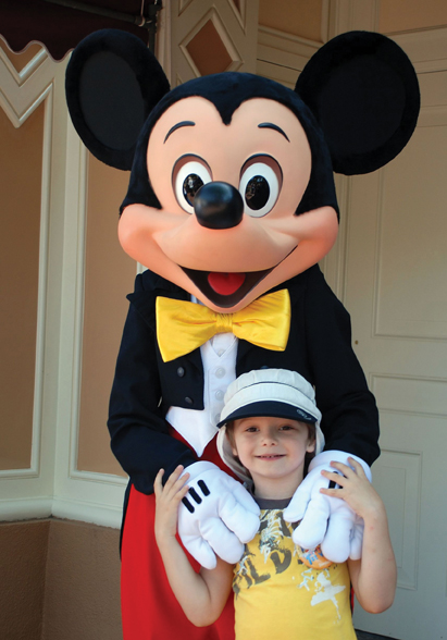 Mickey Mouse at Disney World