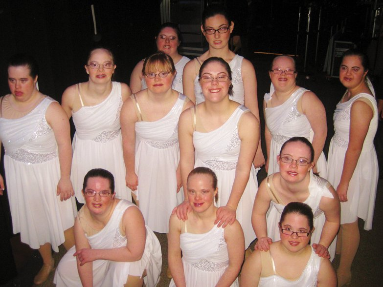 ballet dancers with Down syndrome