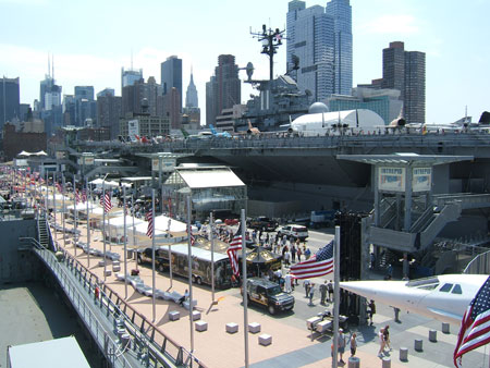 Intrepid Museum Fleet Week