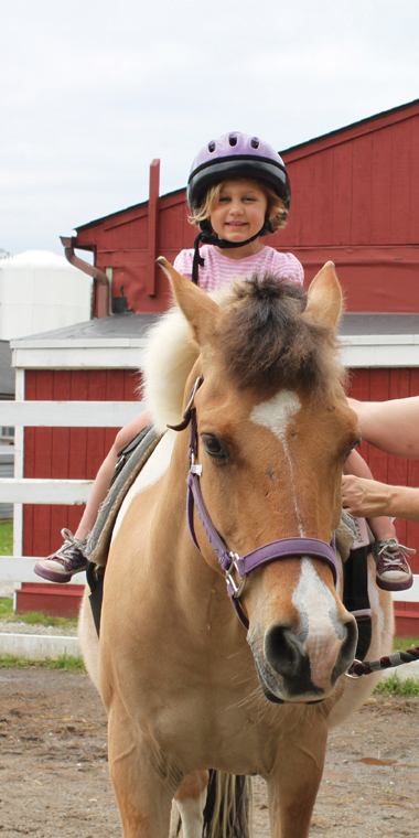 pony rides at green chimneys