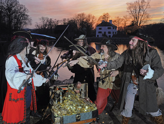 Pirate festival in Sleepy Hollow NY