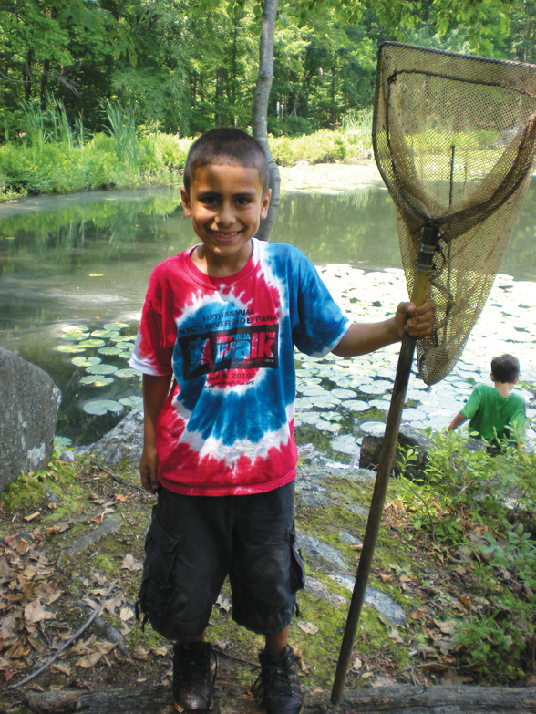 Pond Life nature program in Ossining NY